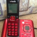 Valentine's Day Red Vtech DECT 6.0 Cordless Phone System & #Giveaway!