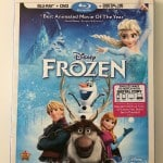 Disney's Frozen Is Out On Blu-Ray Now!