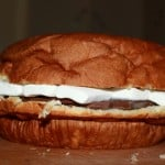 Behold The Giant S'More Burger (Recipe)!