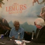 Interviews With Morgan Freeman and The Crew of Island of Lemurs Madagascar!