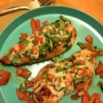 Grilled Bruschetta Chicken Recipe With KRAFT Natural Shredded Cheese!