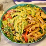KRAFT Natural Shredded Cheese Grilled Chicken Chopped Salad Recipe!