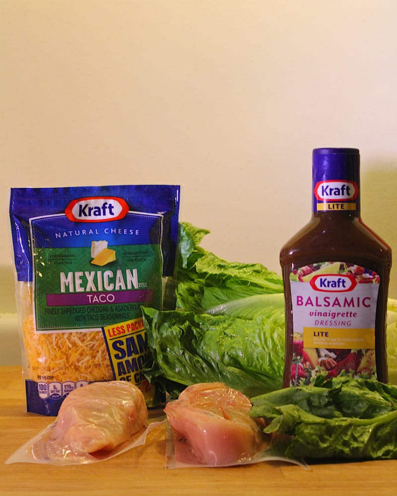 Kraft natural shredded cheese grilled chicken chopped salad recipe forumfinder Gallery