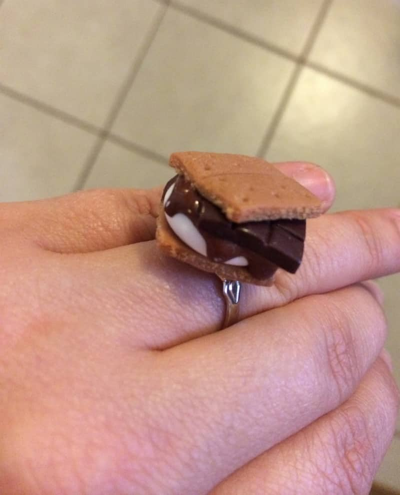 Summer hersheys smores dip and grilled smores recipe smore ring publicscrutiny Gallery