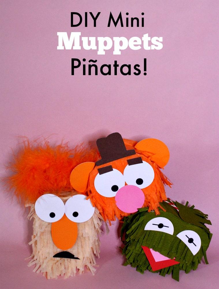 DIY-MINI-MUPPET-piñata