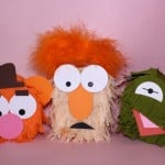 DIY Mini Muppets Piñatas!