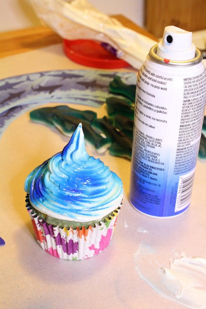Spray-Cupcake