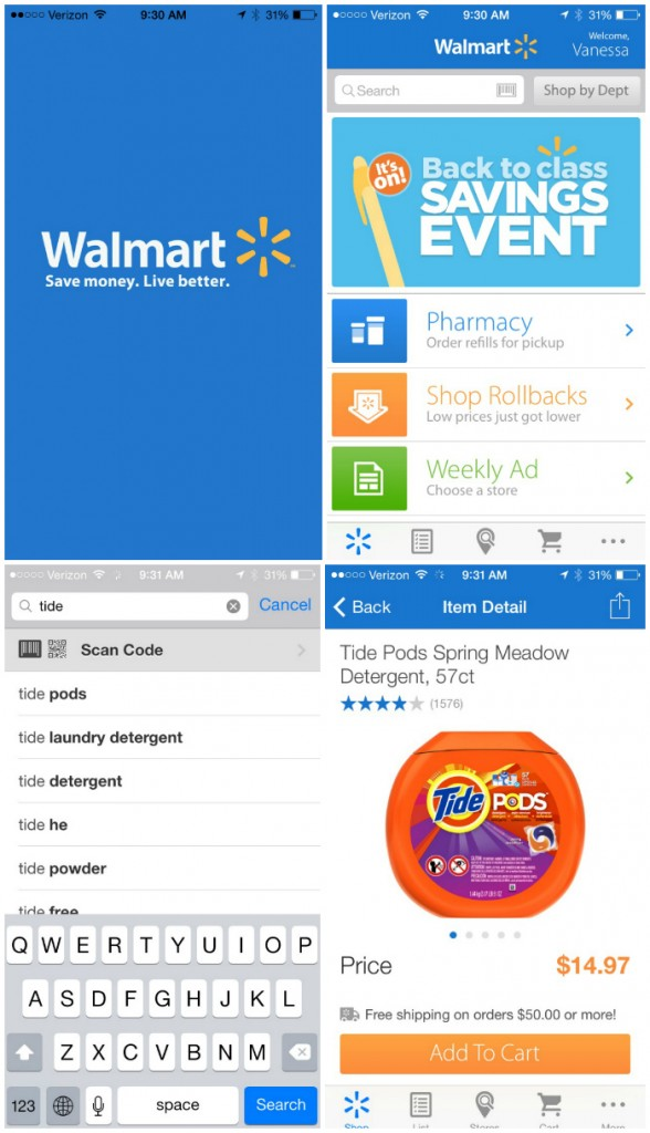 Walmart.com-App