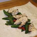 Entertaining With Frozen Foods & Easy Chicken Wrap Recipe!