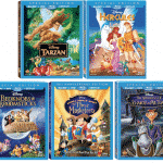 Five Disney Classics Are On Blu-ray For The First TIme!