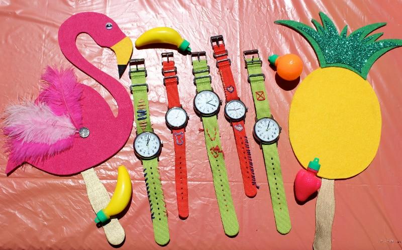 watches-pineapples-flamingo