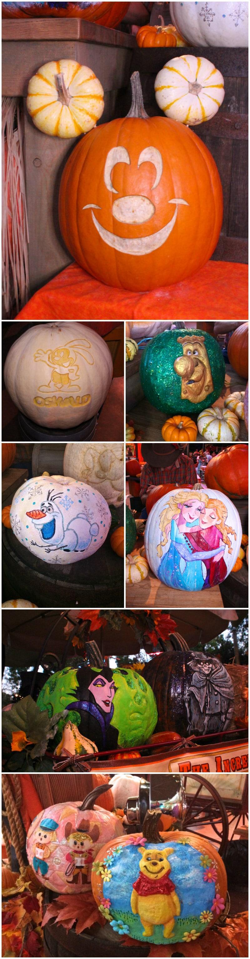 Disney-Halloween-Pumpkins