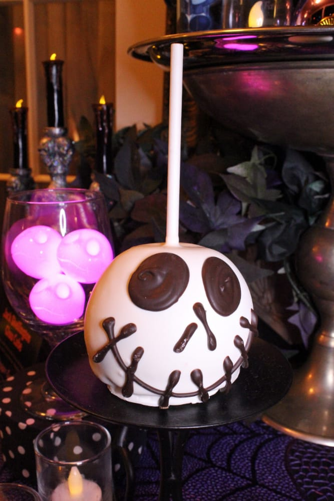 Jack-Skelington-Candy-apple