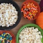A DIY Halloween Popcorn Bar & Giveaway!