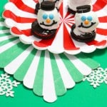 Holiday Snowmen Oreo Cookie Balls!