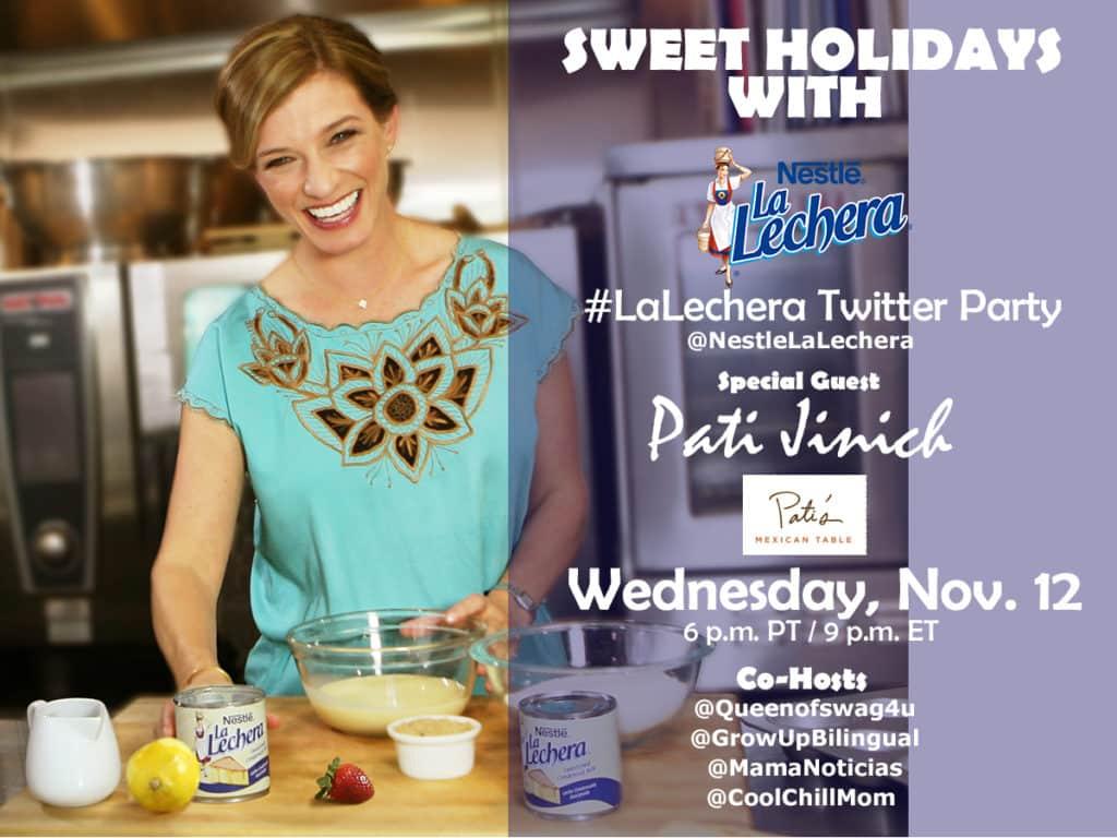 La Lechera Twitter Party, Thursday, 11-12-14