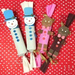 DIY Holiday Snowman & Gingerbread Man Poppers!