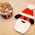 DIY Santa Pup Doggy Treat Gift Idea! #TreatThePups