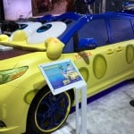 The Spongebob Toyota Sienna At The LA Auto Show!