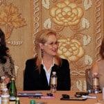 Chatting With The Legendary Meryl Streep, Tracey Ullman, & Christine Baranski! #IntoTheWoodsEvent