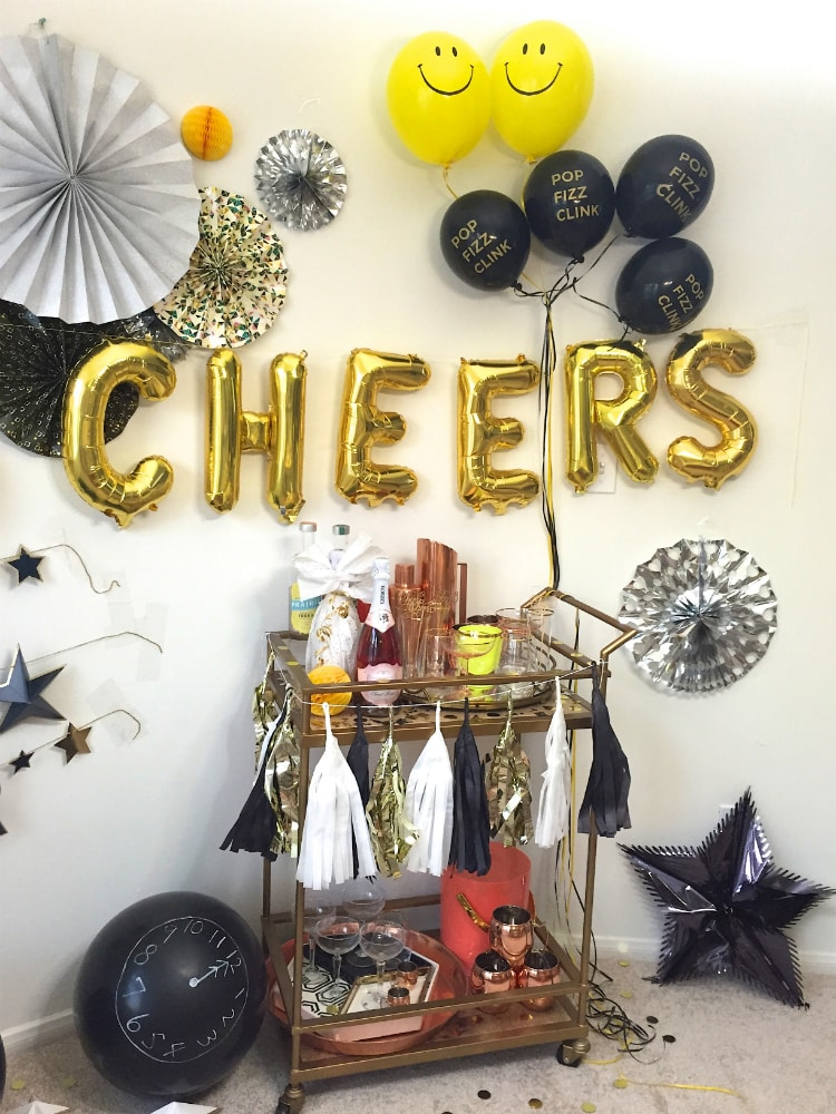 New-Years-Eve-Party-Bar-Cart