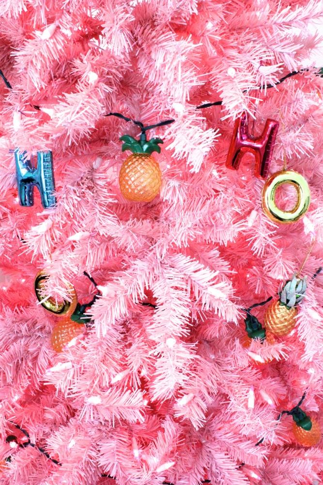 Pineapple-tree-ornaments
