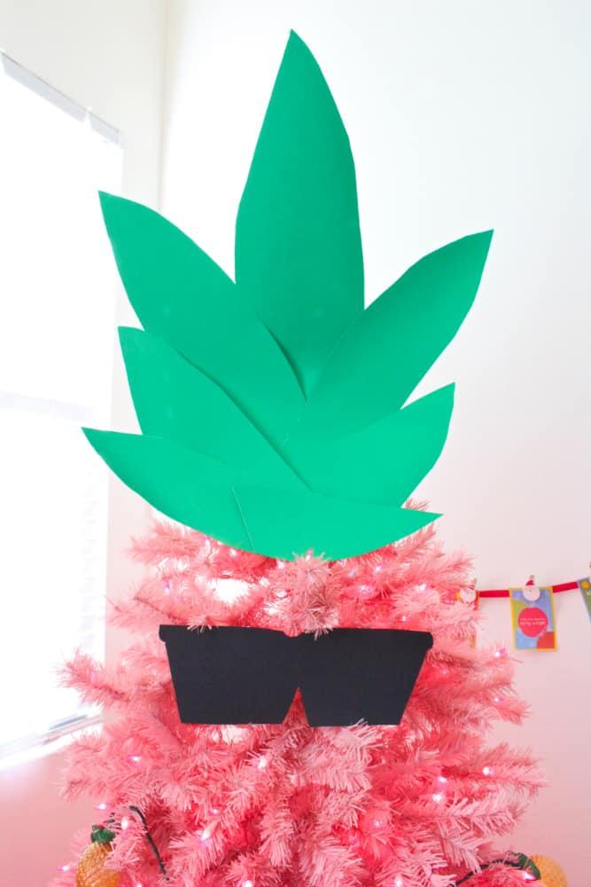 Pink-Pineapple-Christmas-Tree-top