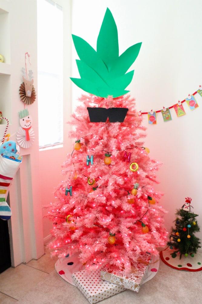 Pink-Pineapple-Christmas-Tree