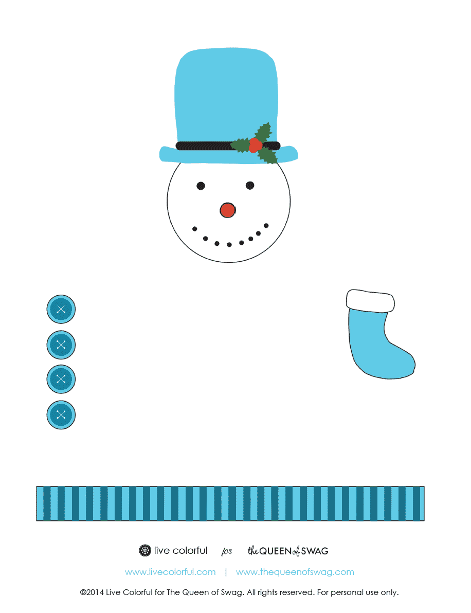 Snowman-Popper-Printable