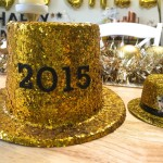 Easy DIY New Years Eve Glitter Hat!