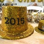 Easy DIY New Years Eve Glitter Hat!