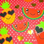 DIY Adorable Fruity Valentine's For Valentine's Day With Free Printable!