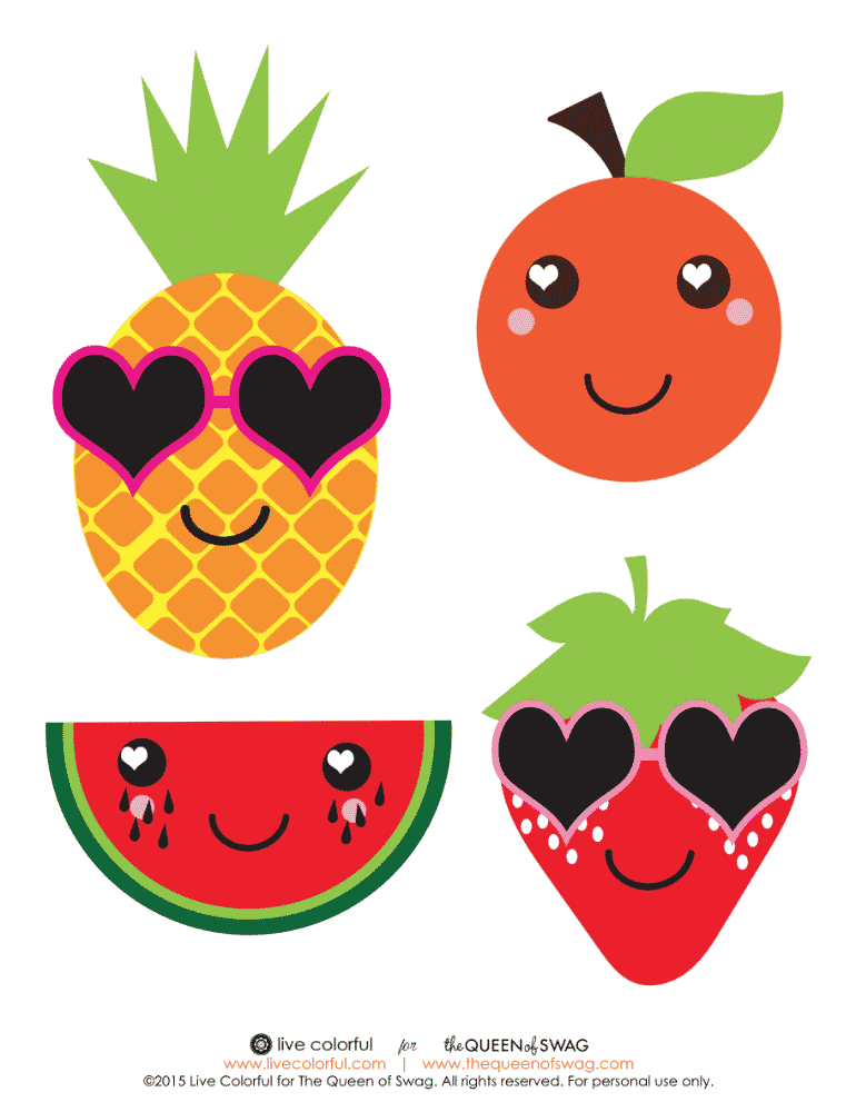 9bc7644942b7 DIY Adorable Fruity Valentine s For Valentine s Day With Free Printable!