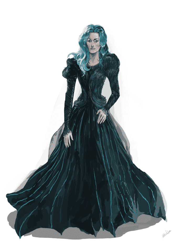 Into the woods sketch