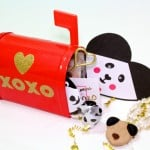 DIY Valentine's Day Panda Gram Idea With Free Printable Valentines!