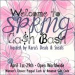 Cash Bash #Giveaway! Your Choice of Amazon Gift Card or Cash!