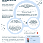 Blogging Tips on Using Google Plus! #Google #Plus #CheatSheet