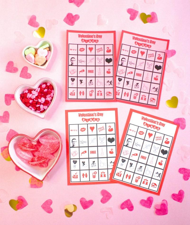 Valentine's Day Bingo-1