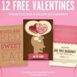 Free Valentine's & Doughnuts at Krispy Kreme! #Free #Swag #Deals #ValentinesDay