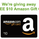 $10 Amazon card on the uGiftIdeas Facebook page!
