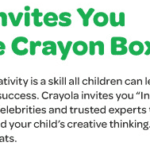"Crayola ""Inside the Crayon Box"" event! Tune in Tonight!"