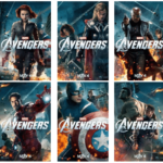 HOT NEW Character Banners for MARVEL'S THE AVENGERS! #disney #marvel #avengers