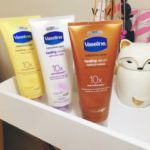 Pampering Myself With Vaseline® Intensive CareTM Healing Serum!