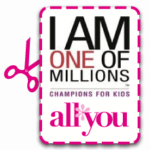 Donating & Being A Champion for Kids! #AllYouCFK #Cbias #Charity