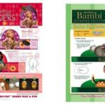 FREE EasterTangled and Bambi Easter activity sheets!