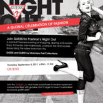 Fashion's Night Out with NYX Makeup & Guess! On 9/08/11!