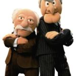 Statler & Waldorf from THE MUPPETS Guide to the Movies!