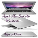 Macbook Air Free Blogger Giveaway Sign Up!