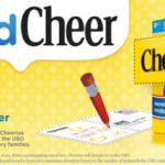 Cheerios sendCheer campaign! Support our Troops! #CBias #sendCheer