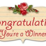 Winners, Winners, well 3 Winners! #winners #giveaways